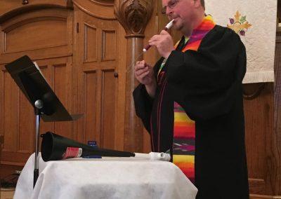 Multi-talented Pastor Dwight Hein